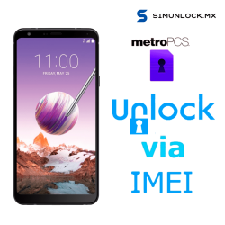 Liberar / Desbloquear LG Stylo 4 MetroPCS por IMEI