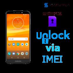 Liberar / Desbloquear Moto E5 Plus MetroPCS por IMEI