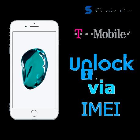 Liberar / Desbloquear iPhone 7 T-Mobile USA por IMEI (Limpios o financiados )