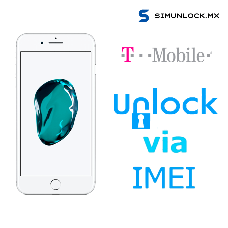 Liberar / Desbloquear iPhone 7 Plus T-Mobile USA por IMEI (Limpios o financiados )