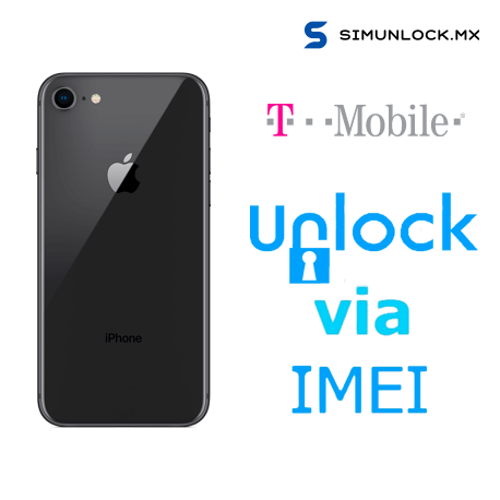 Liberar / Desbloquear iPhone 8 T-Mobile USA por IMEI (Limpios o financiados)