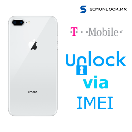 Liberar / Desbloquear iPhone 8 Plus T-Mobile USA por IMEI (Limpios o financiados)