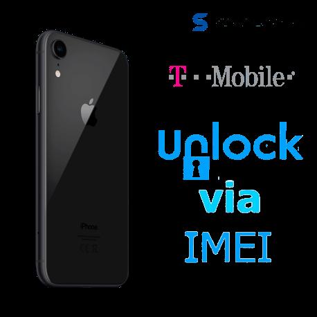 Liberar / Desbloquear iPhone XR T-Mobile USA por IMEI (Limpios o financiados)