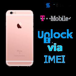 Liberar / Desbloquear iPhone 6s T-Mobile USA por IMEI (Limpios o financiados)