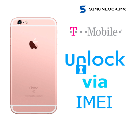 Liberar / Desbloquear iPhone 6s T-Mobile USA por IMEI (Limpios o financiados)