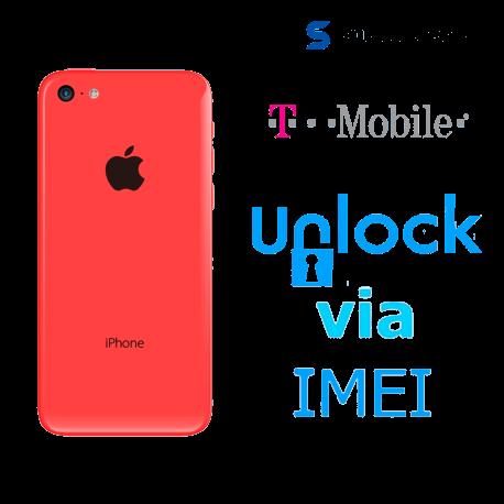 Liberar / Desbloquear iPhone 5c T-Mobile USA por IMEI (Limpios o financiados)