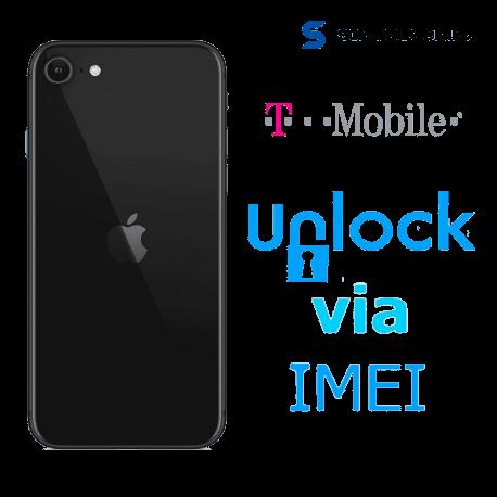 Liberar / Desbloquear iPhone SE 2da Gen 2020 T-Mobile USA por IMEI (Limpios o financiados)