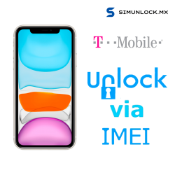Liberar / Desbloquear iPhone 11 T-Mobile USA por IMEI (Limpios o financiados)