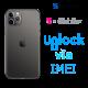 Liberar / Desbloquear iPhone 11 Pro Max T-Mobile USA por IMEI (Limpios o financiados)