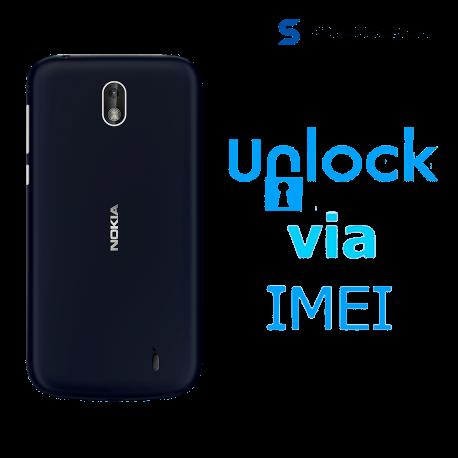 â–º Liberar / Desbloquear Nokia 1 Movistar por IMEI