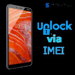â–º Liberar / Desbloquear Nokia 3.1 Plus Movistar por IMEI