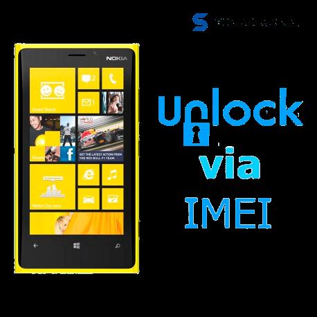 Liberar / Desbloquear Nokia Lumia 920 por IMEI