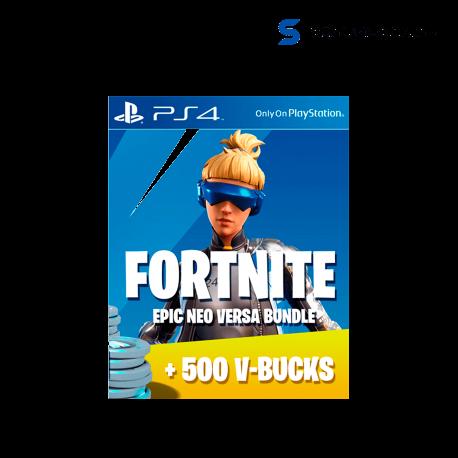 â–º Comprar Fortnite Versa Pack + 500 Pavos ( PS4 )
