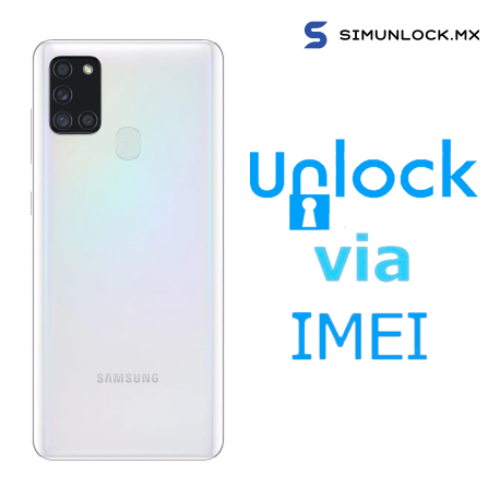Liberar / Desbloquear Samsung Galaxy A21s Movistar por IMEI
