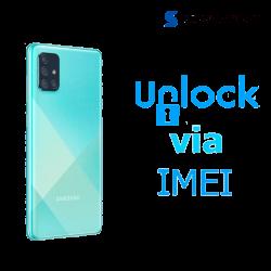 Liberar / Desbloquear Samsung Galaxy A71 Movistar por IMEI